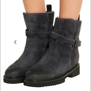 VINCE Claudia Genuine Shearling Lined Boots